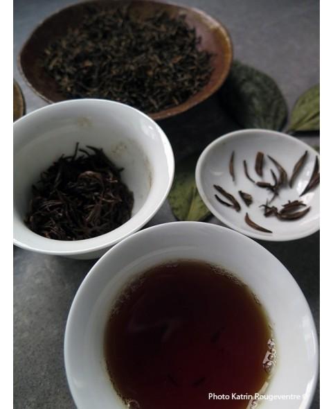 Boite à thé métal Vert Tilleul