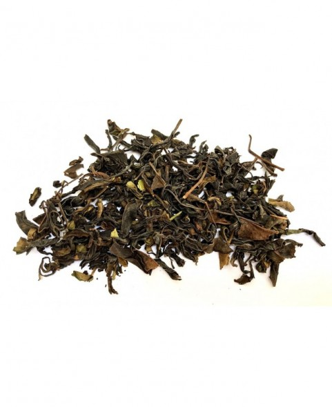 Boite à thé métal Anthracite capacité +/- 125g