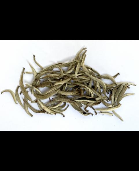 Boite à thé métal Ivoire